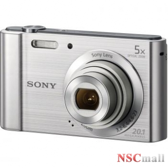 Camera foto Sony digitaia DSCW800, 20MP, Silver