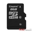 Card Kingston 8GB microSDHC Class 10 Flash Card