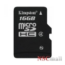 Card Kingston Micro-SDHC 16GB, Class 4 + Adaptor